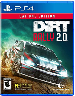 Dirt Rally 2.0 Day One - Ps4 - Juego Fisico - Sniper Games