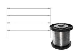 Arame Fino Para Cerca Elétrica Inox 0,45mm
