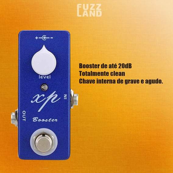 Pedal De Guitarra Mosky Xp Booster - Ep Booster Xotic