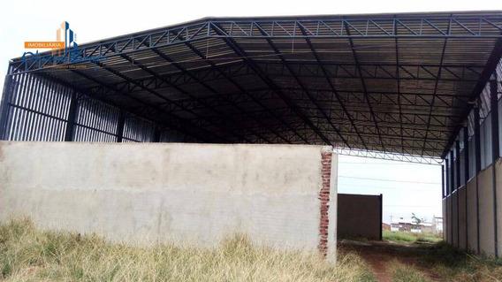 Galpão À Venda, 560 M² Por R$ 550.000,00 - Residencial Cidade Industrial - Anápolis/go - Ga0006