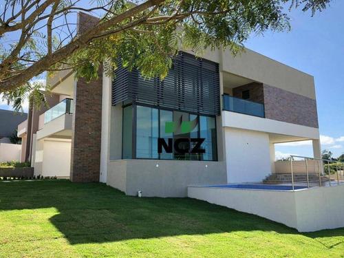 Imagem 1 de 26 de Casa Com 4 Dormitórios À Venda, 276 M² Por R$ 1.400.000,00 - Alphaville Litoral Norte 2 - Camaçari/ba - Ca3493