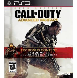 Call Of Duty Advanced Warfare Gold Edition Ps3 Nuevo