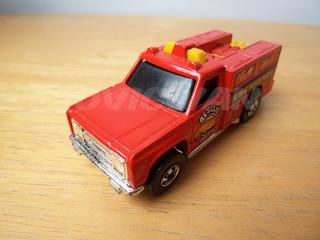 Carro A Escala Rescue Unit Emergency Hot Wheels 1974 Ce24