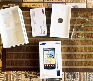 Caixa Vazia Galaxy Note Gt-n7000 Nova Com Manuais