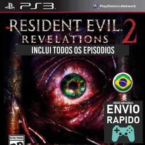 Resident Evil Revelations 2 Todos Capitulos Jogos Ps3
