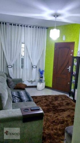Imagem 1 de 30 de Imob01 - Sobrado 215 M² - Venda - 3 Dormitórios - 2 Suítes - Vila Village - São Bernardo Do Campo/sp - So0315