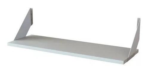Imagen 1 de 5 de Estante Con Mensula Centro Estant 80 X 30 Cm Melamina