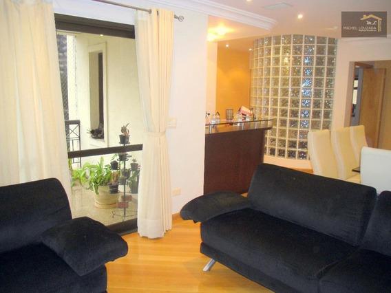 Apartamento Com 3 Dormitórios À Venda, 135 M² Rua Lydia Ferrari Magnoli - Jardim Avelino - São Paulo/sp - Ap0466