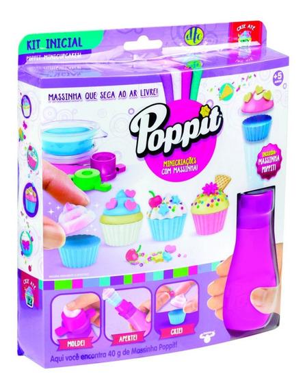 Poppit Kit Inicial Mini Cupcake Dtc