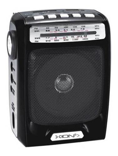 Radio Portatil Con Linterna Xion - Universo Mágico