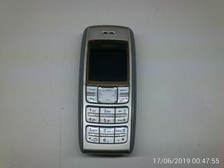 Nokia 1600 Com 2 Baterias: Celular Gsm Clássico E Simples (bom Para Idosos)