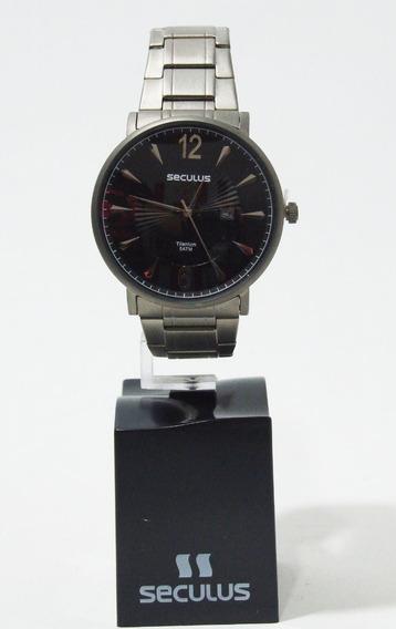 Relógio Analógico Masculino Titanium Seculus 20531g0svnt1
