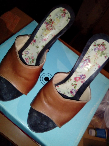Zapatos Fiori De Cuero Num 37