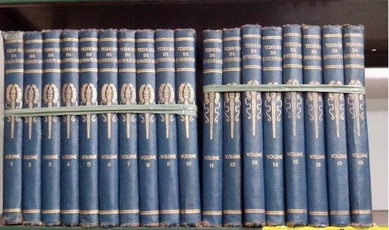 Coleçao Tesouro Da Juventude Em 18 Volumes