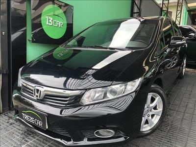 Honda Civic 2.0 Exr Flex 4p Automático - Teto-solar