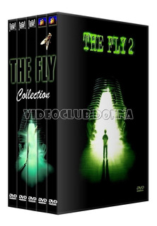 The Fly La Mosca Saga Completa Dvd 5 Peliculas Colección