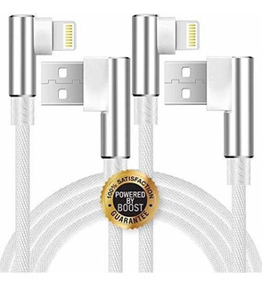 Boost Cable De Carga Trenzado De Nailon Para iPhone X / 8/8