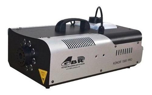 Gbr Konor 1500 Pro Maquina De Humo 9 Leds 3w Rgb Gran Caudal
