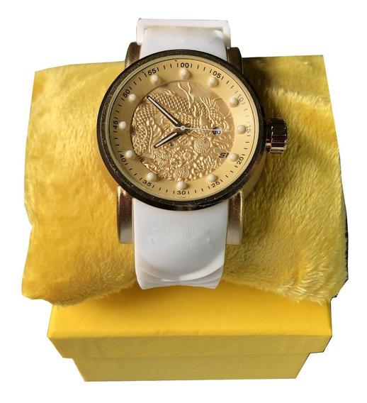 Relógio Masculino De Luxo A Prova D Agua Dragão Promoção