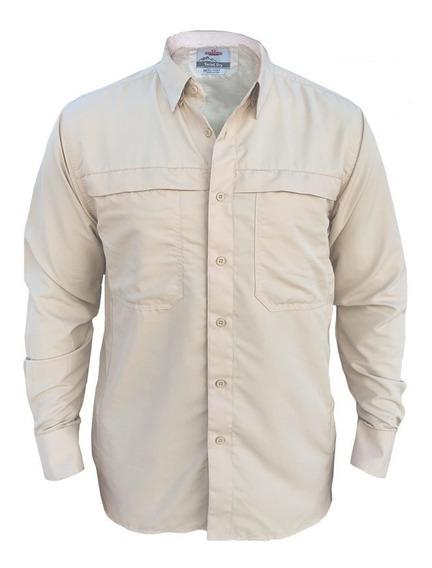 Camisa Outdoor Tactel Dry Uv +50 Ripstop Hombre