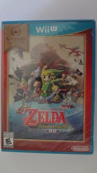 The Legend Of Zelda The Windwaker Wii U Física Lacrado