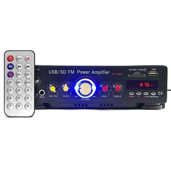 Amplificador Som Ambiente Bluetooth Musica - Pc Tv Receiver