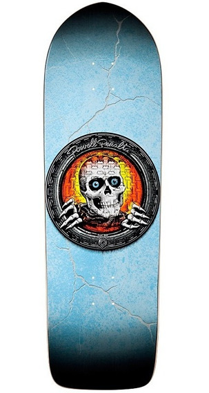 Tabla De Skate Powell Peralta Orange Pool Light Ripper 10