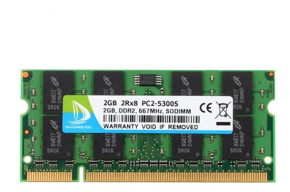 Memoria Ram 2gb Ddr2 667mhz Pc2-5300 Sodimm Duomeiqi