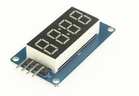 Modulo Arduino Relógio Digital 4 Bits Display Tm1637