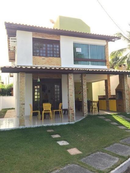 Casa Com 3 Dormitórios À Venda, 127 M² Por R$ 490.000,00 - Praia De Tabatinga - Nísia Floresta/rn - Ca7299