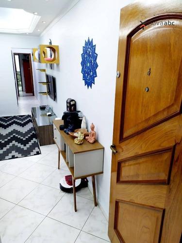 Cobertura Com 2 Dormitórios À Venda, 67 M² Por R$ 450.000 - Vila Pires - Santo André/sp - Co0880