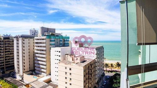Imagem 1 de 30 de Cobertura Com 4 Dormitórios À Venda, 276 M² Por R$ 1.400.000,00 - Praia De Itapoã - Vila Velha/es - Co0040