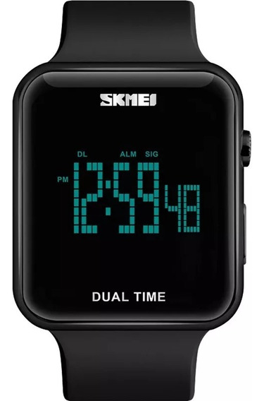 Relógio Skmei Dual Time 5170 Digital Black Piano