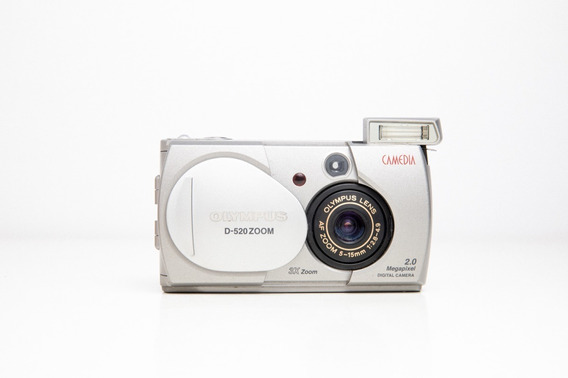 Câmera Fotográfica Olympus D-520
