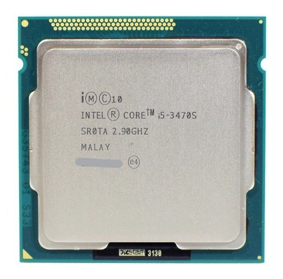 Processador Intel Core I5 3470s Lga 1155 C/ Pasta Térmica