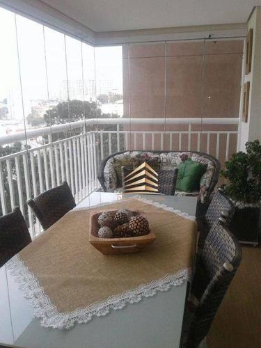 Apartamento Alta Vista  3 Dormitórios 3 Suites Estuda Permuta  À Venda, 134 M² Por R$ 960.000 - Jardim Zaira - Guarulhos/sp - Ap1085