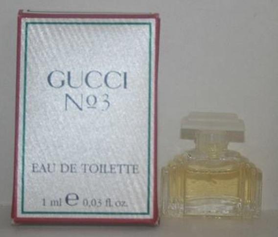Miniatura De Perfume: Gucci N°3 - 1 Ml - Edt