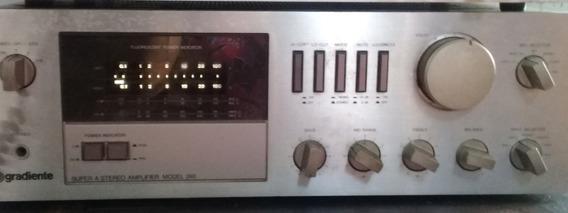 Gradiente Model 246 Amplificador Funcionando