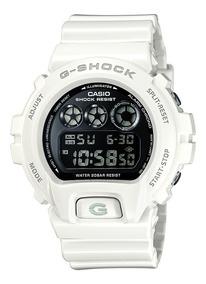 Relógio Casio G-shock Dw-6900nb-7dr Branco Nota Fiscal