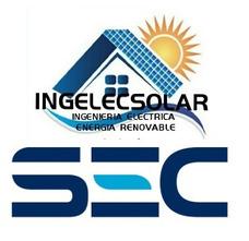 Instalador Eléctrico Sec Paneles Solares Y Termos Solares