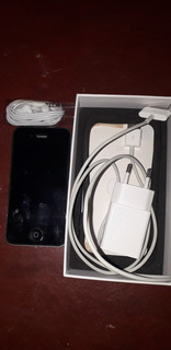 iPhone 4s Cor: Preta. Acompanha Fone E Carregador,novo .