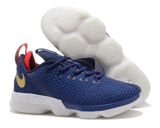 Nike Lebron James Xiv 14 Low Basquetbol Tenis Hombre Mx 7.5