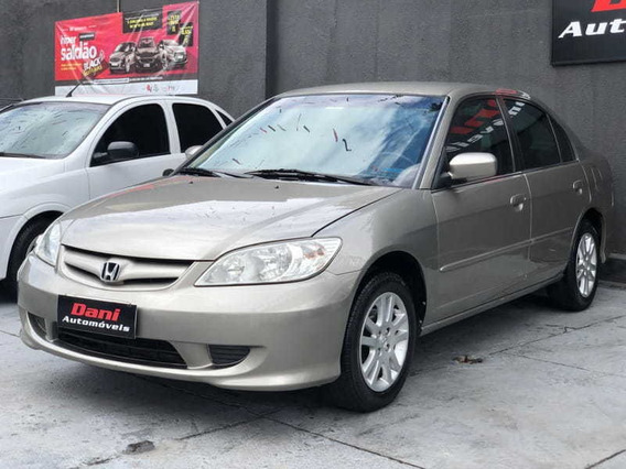 Honda Civic Sedan Lxl-mt 1.7 - Completo