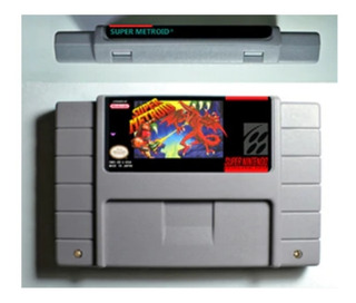 Super Metroid Repro Snes Super Nintendo