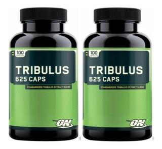 2unid Tribulus Terrestris 100caps Optimum On Importado Original E U A