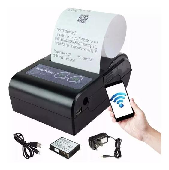 Mini Impressora Bluetooth Termica 58mm