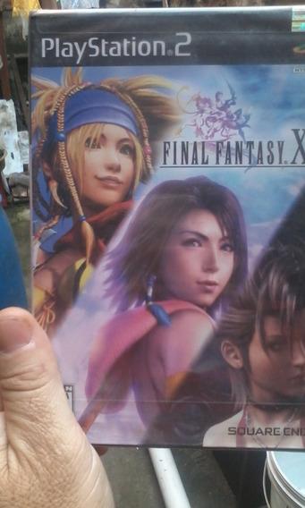 Final Fantasy X-2 Ps2 Original Americano Lacrado