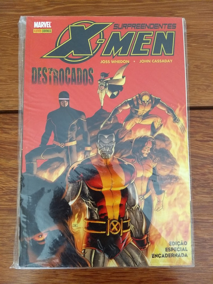 Surpreendentes X-men - Destroçados - Frete Grátis, Panini