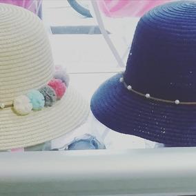 Sombreros Pavas Niñas Fibra
