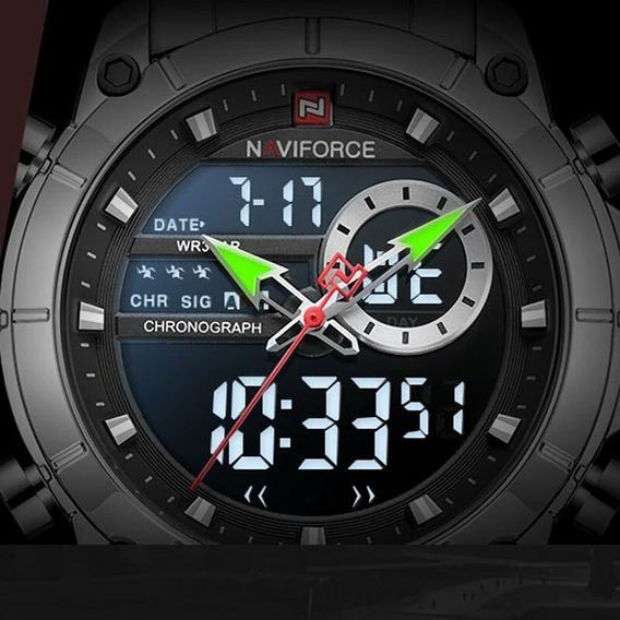 Relógio Masculino Naviforce À Prova D
